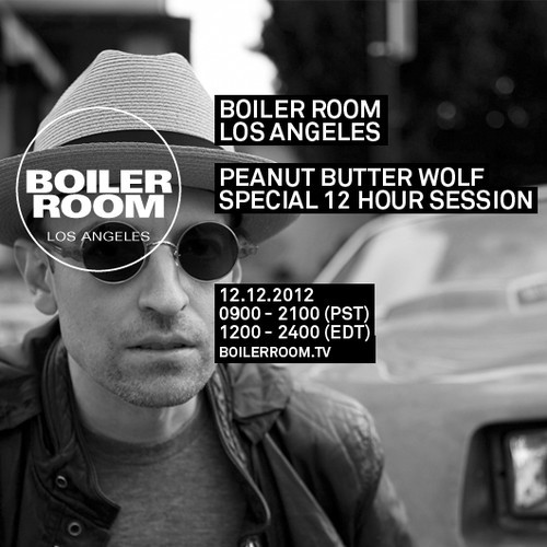 Peanut Butter Wolf - Boiler Room Mix (rhythm22 picture archives)