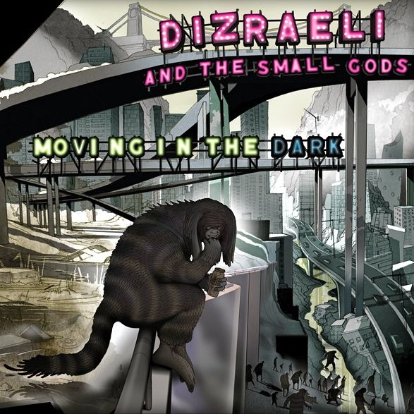 Moving In The Dark - Dizraeli and the Small Gods (rhythm22 picture archives)