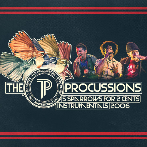 The Procussions - 5 Sparrows for 2 cents instrumentals (rhythm22 picture archives)