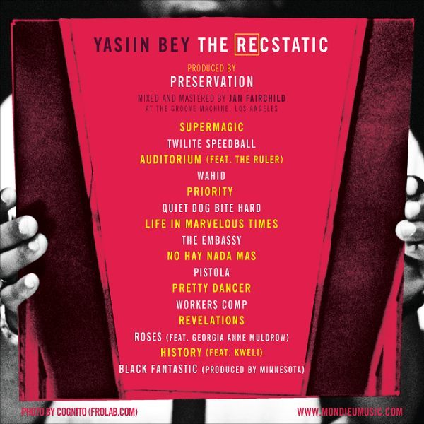 Yasiin-Bey-Mos-Def-Preservation-The-REcstatic-Tracklist (rhythm22 picture archives)