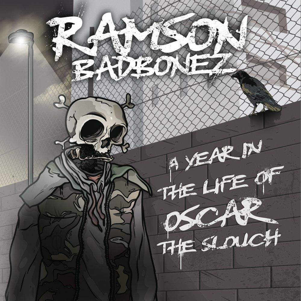 Ramson Badbonez - A Year In The Life Of Oscar The Slouch - FRONT (rhythm22 picture archives)
