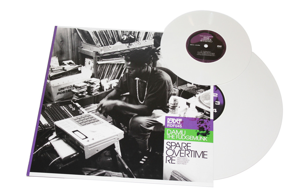 Damu Spare Overtime WhiteVinyl (rhythm22 picture archives)